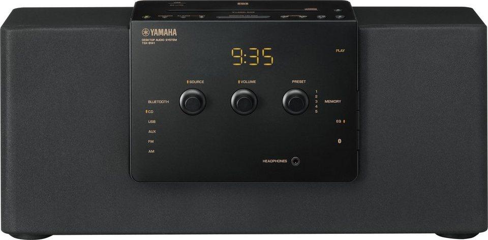 Yamaha TSX-B141 Kompaktanlage, Bluetooth, NFC, 1x USB in schwarz