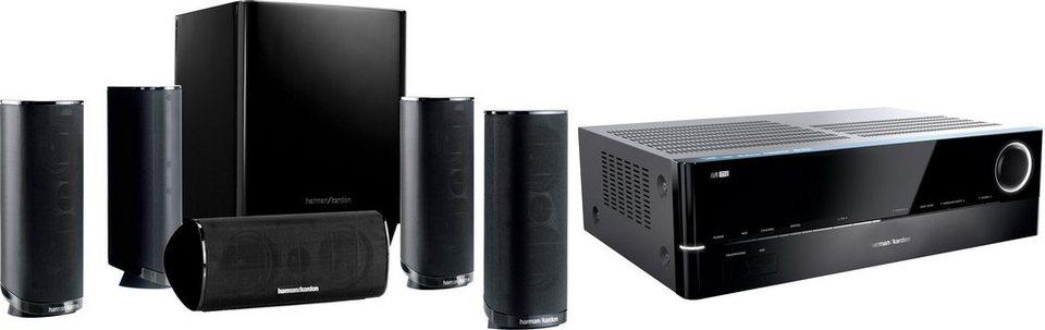 Harman/Kardon HD Com 1716S Heimkinosystem, 700 W, 3D-fähig, Bluetooth, Spotify/vTuner in schwarz