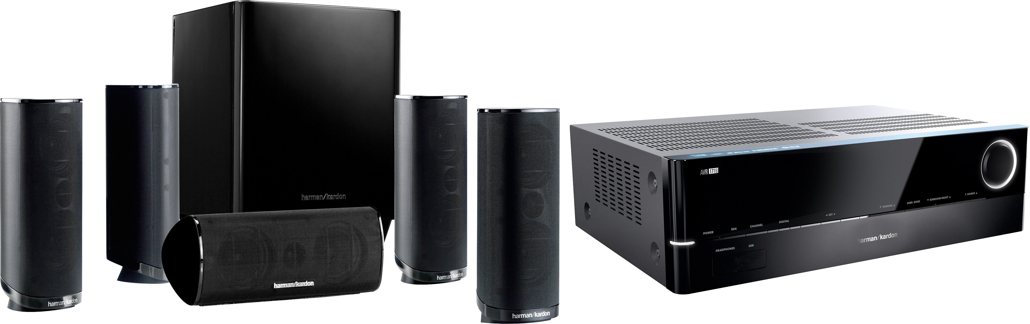 Harman/Kardon HD Com 1716S 5.1 Heimkinosystem (700 W, Bluetooth, Spotify)