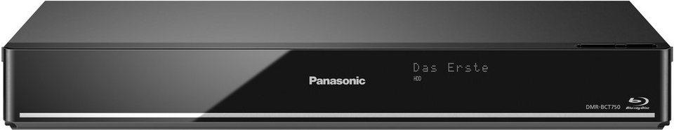 Panasonic DMR-BCT750/755 Blu-ray-Recorder, 3D-fähig, 4K (Ultra-HD), 500 GB, WLAN in schwarz