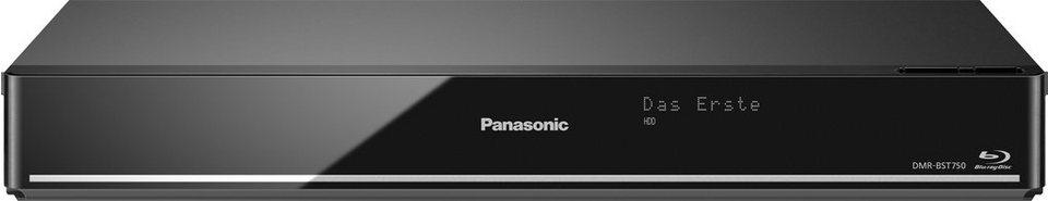 Panasonic DMR-BST750 / DMR-BST755 Blu-ray-Recorder, 3D-fähig, 4K (Ultra-HD), 500 GB, WLAN in schwarz