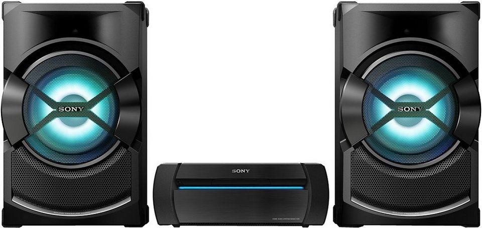 Sony Shake-X3D Stereoanlage, Bluetooth, NFC, 2x USB in schwarz