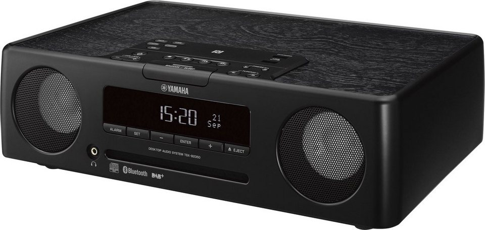 TSX-B235D Kompaktanlage, Bluetooth, NFC, Digitalradio (DAB+), 2x USB in schwarz