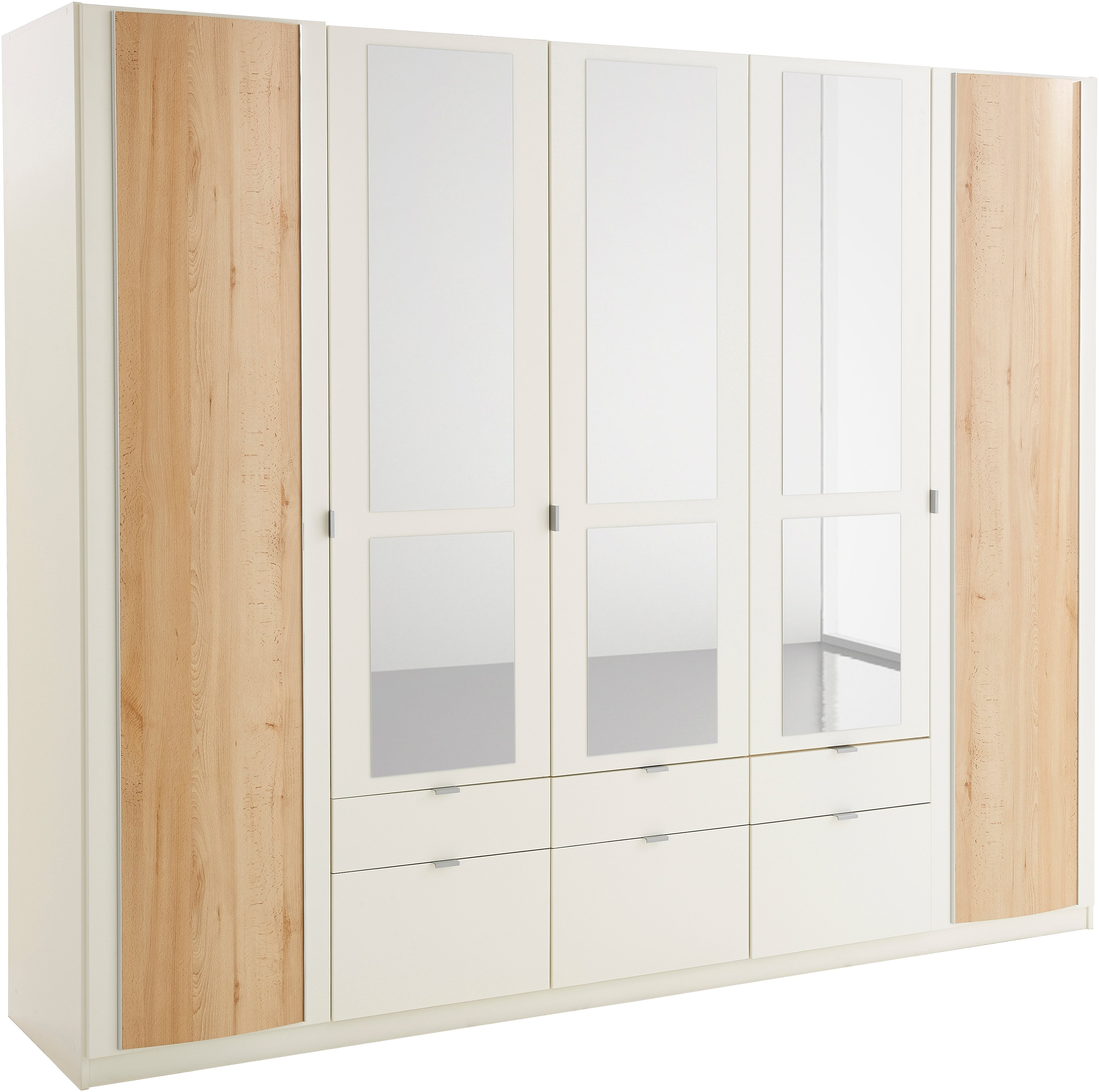 Kleiderschrank | Schlafzimmer > Kleiderschränke > Drehtürenschränke | Weiß