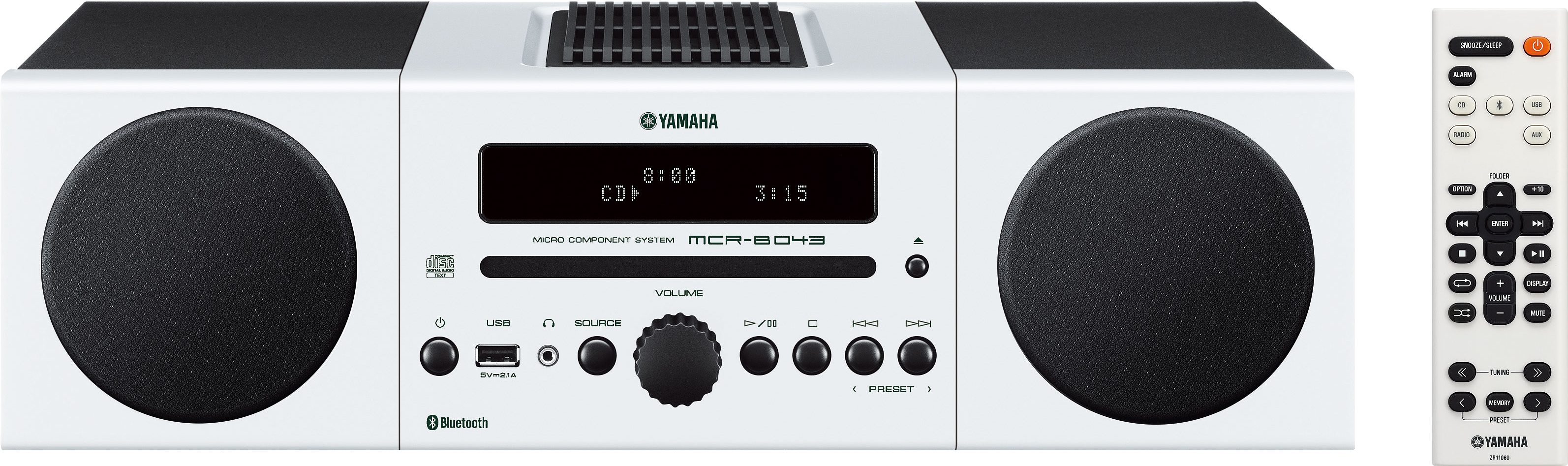 Yamaha MCR-B043 Kompaktanlage, Bluetooth, 1x USB