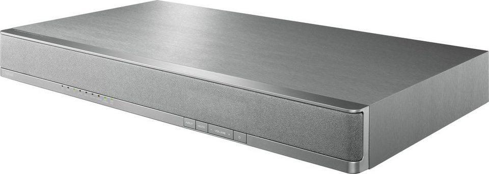 Yamaha SRT-700 Soundbar mit Bluetooth in silberfarben