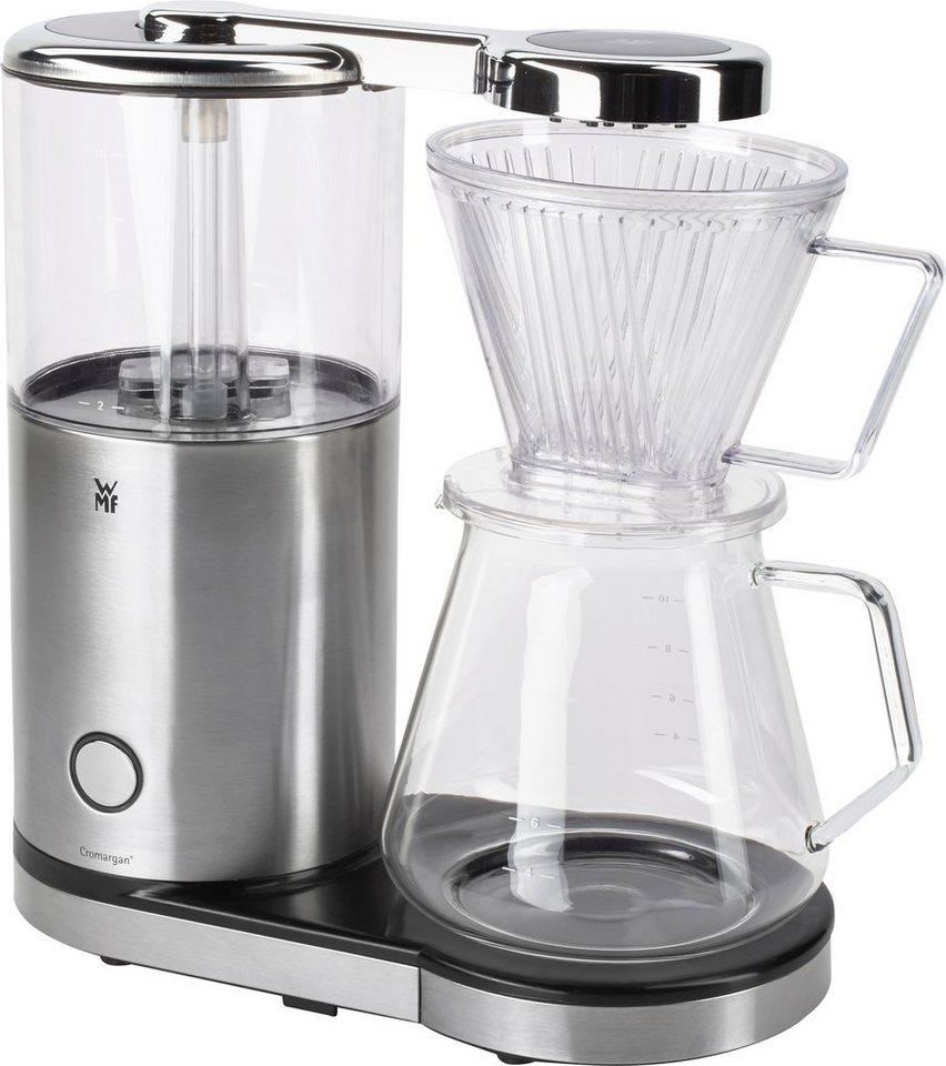 WMF Kaffeemaschine »AromaMaster Glas«, für 1,25 Liter, 1470 Watt, Cromargan® matt in Cromargan® matt