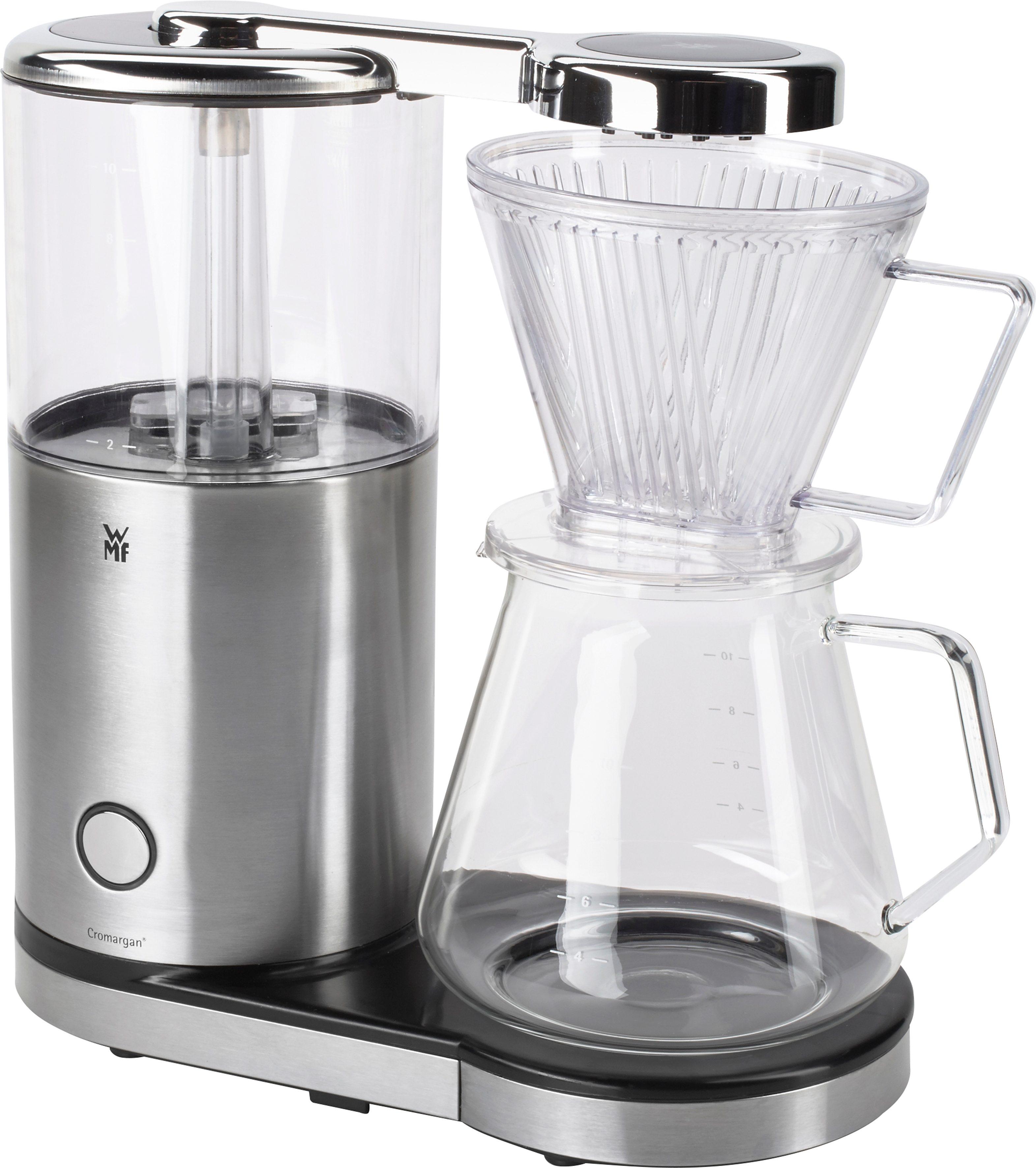 WMF Kaffeemaschine »AromaMaster Glas«, für 1,25 Liter, 1470 Watt, Cromargan® matt