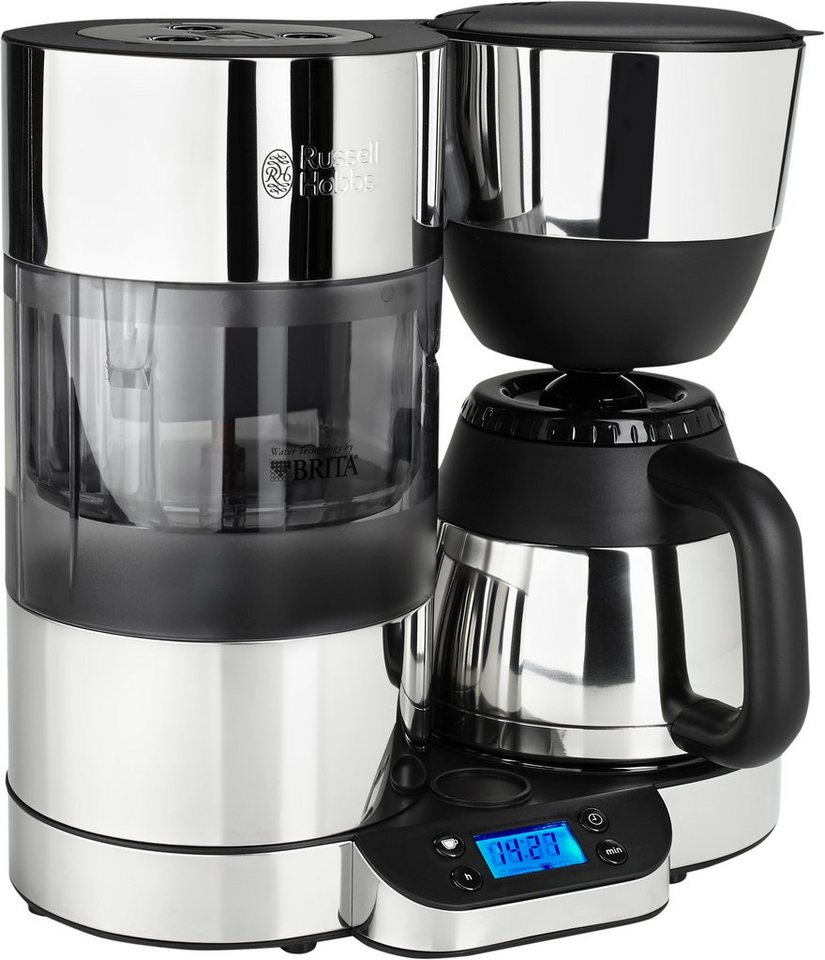 Russell Hobbs Digitale Thermo-Kaffeemaschine Clarity 20771-56 in schwarz/silber