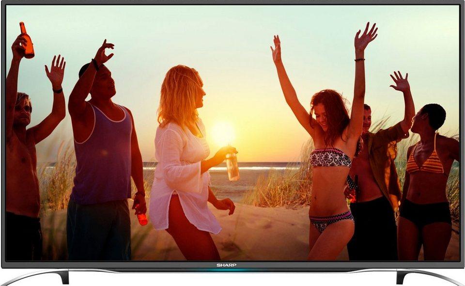 Sharp LC-43SFE7332E, LED Fernseher, 109 cm (43 Zoll), 1080p (Full HD) in schwarz/silberfarben