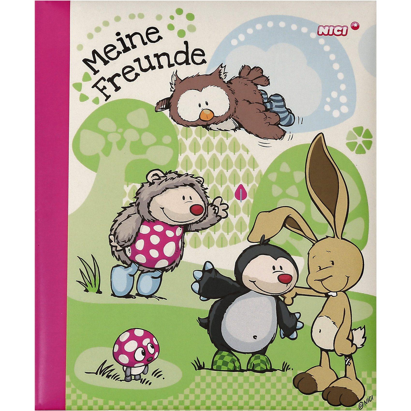 NICI Freundebuch Igel & Maulwurf