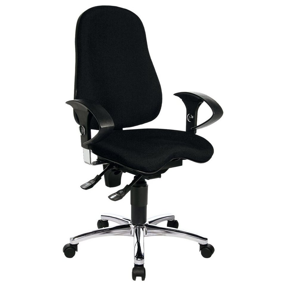 topstar drehstuhl 10 10 sitness 10 schwarz kaufen otto. Black Bedroom Furniture Sets. Home Design Ideas