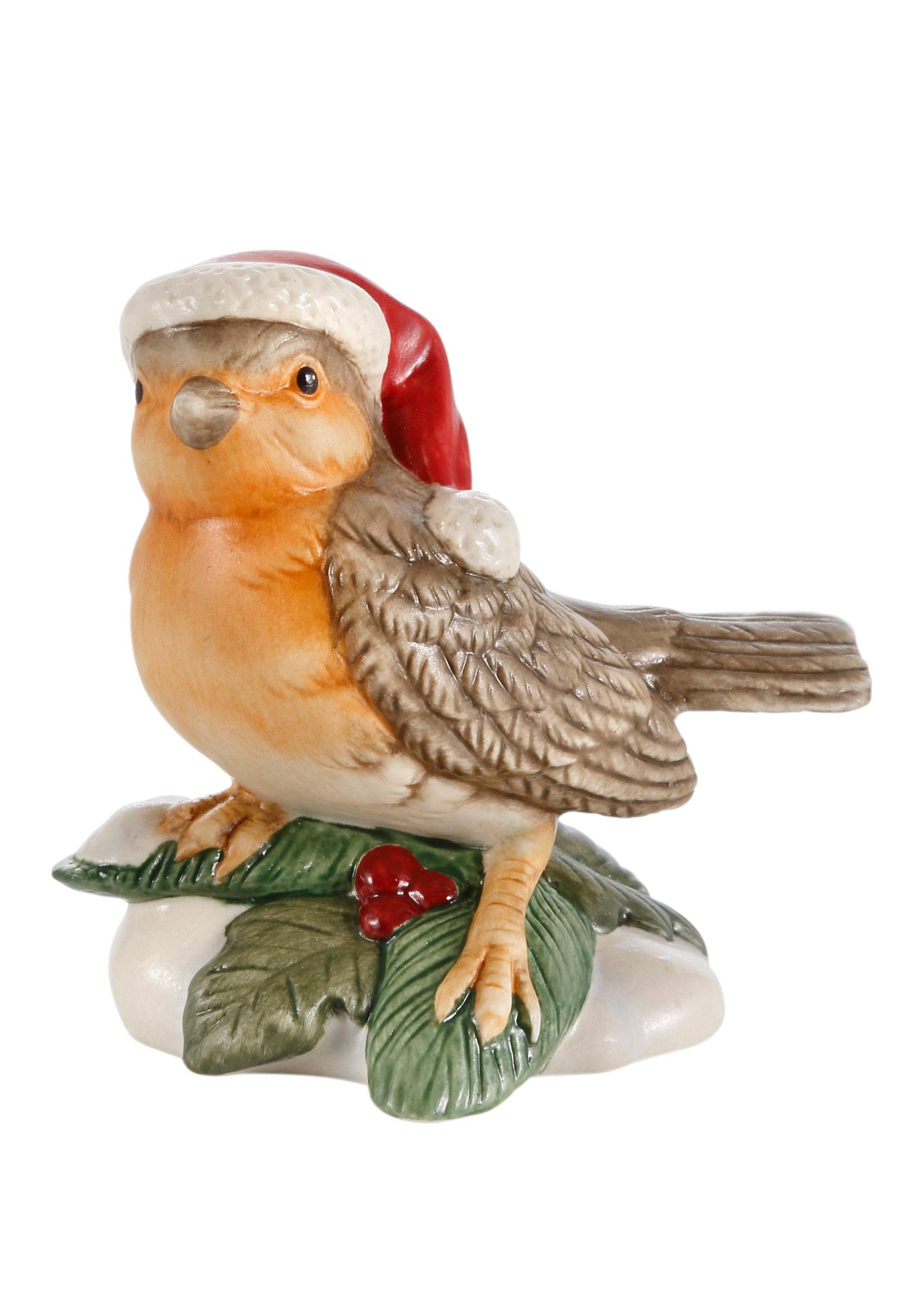 Goebel Sammlerfigur, »Zwitschernder Weihnachtsbote«