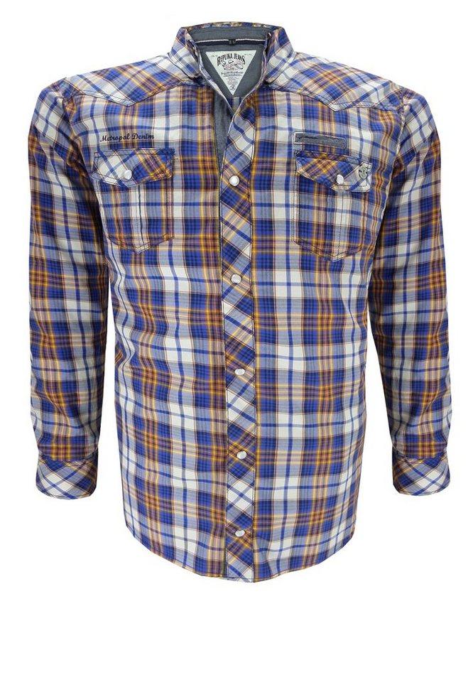 replika Oberhemd in Blau