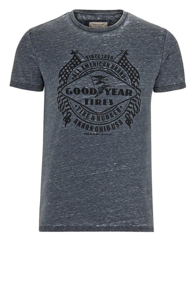 Goodyear T-Shirt in Dark Grey