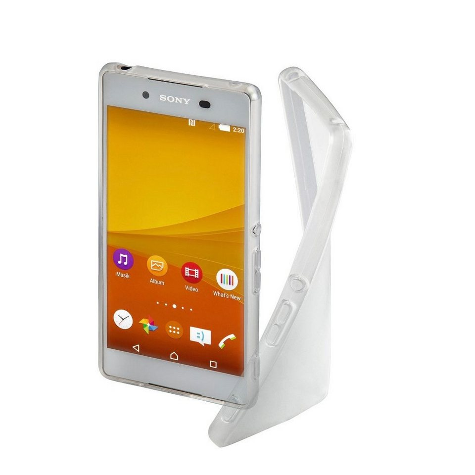 Hama Cover Crystal für Sony Xperia Z3+, Transparent in Transparent