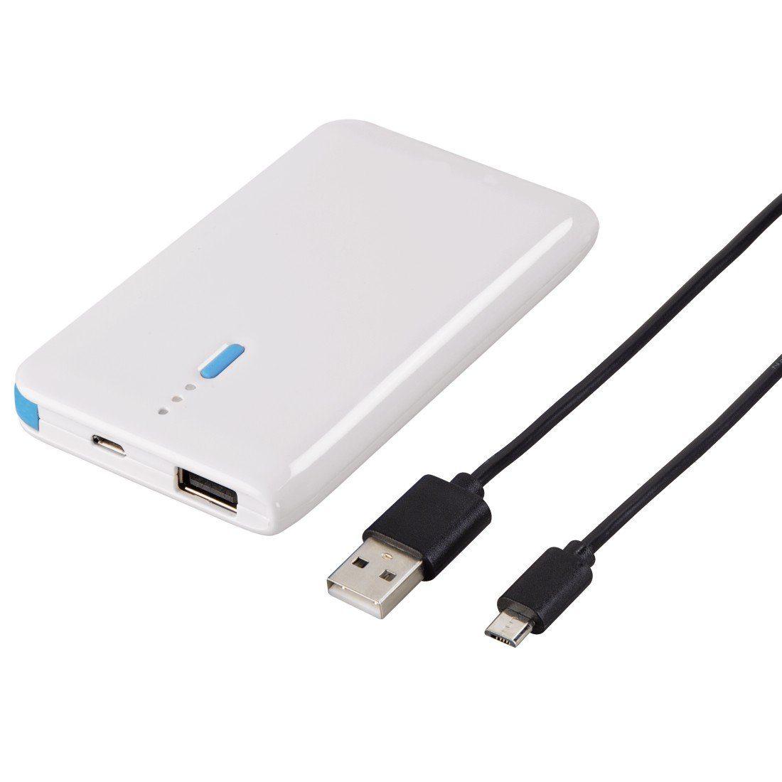 Hama Power Pack Slim, 4600mAh, Weiß