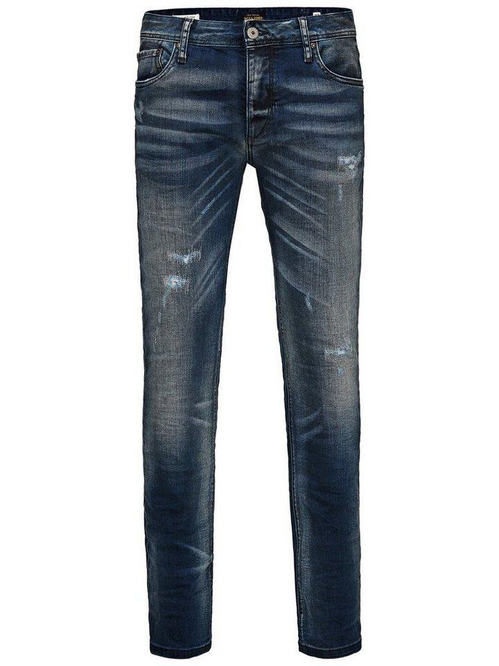 Jack & Jones Tim Original JOS 361 Slim Fit Jeans in Blue Denim