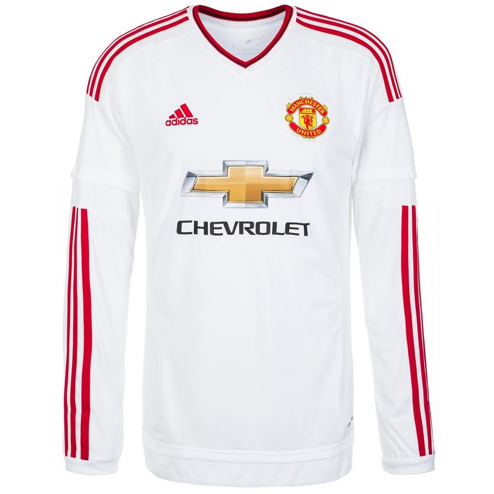 adidas Performance Manchester United Trikot Away 2015/2016 Herren in weiß / rot