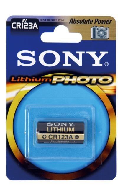 Sony Batterie »Stamina-Photo Lithium , 3 V, 1400 mAh«
