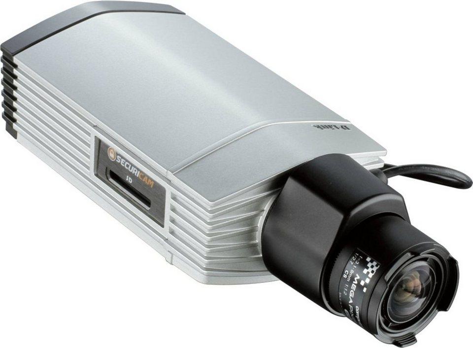 D-Link IP-Kamera »DCS-3716/E PoE Tag&Nacht Full HD« in Silber-Schwarz