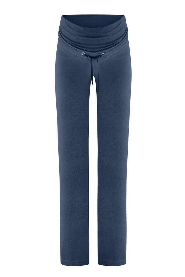BELLYBUTTON Umstandshose »Loungewear Hose Mama« in night blue