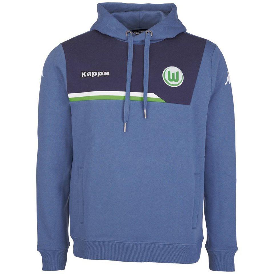 KAPPA Sweatshirt »VfL Wolfsburg Sweatshirt Sparetime« in jeans