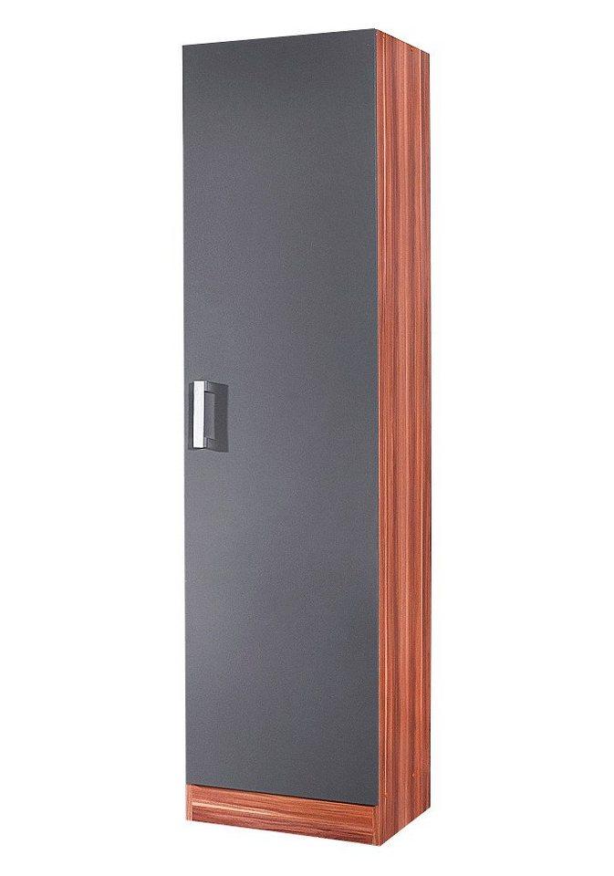 Vorratsschrank »Toronto«, Breite 50 cm in anthrazit/nussbaumfarben