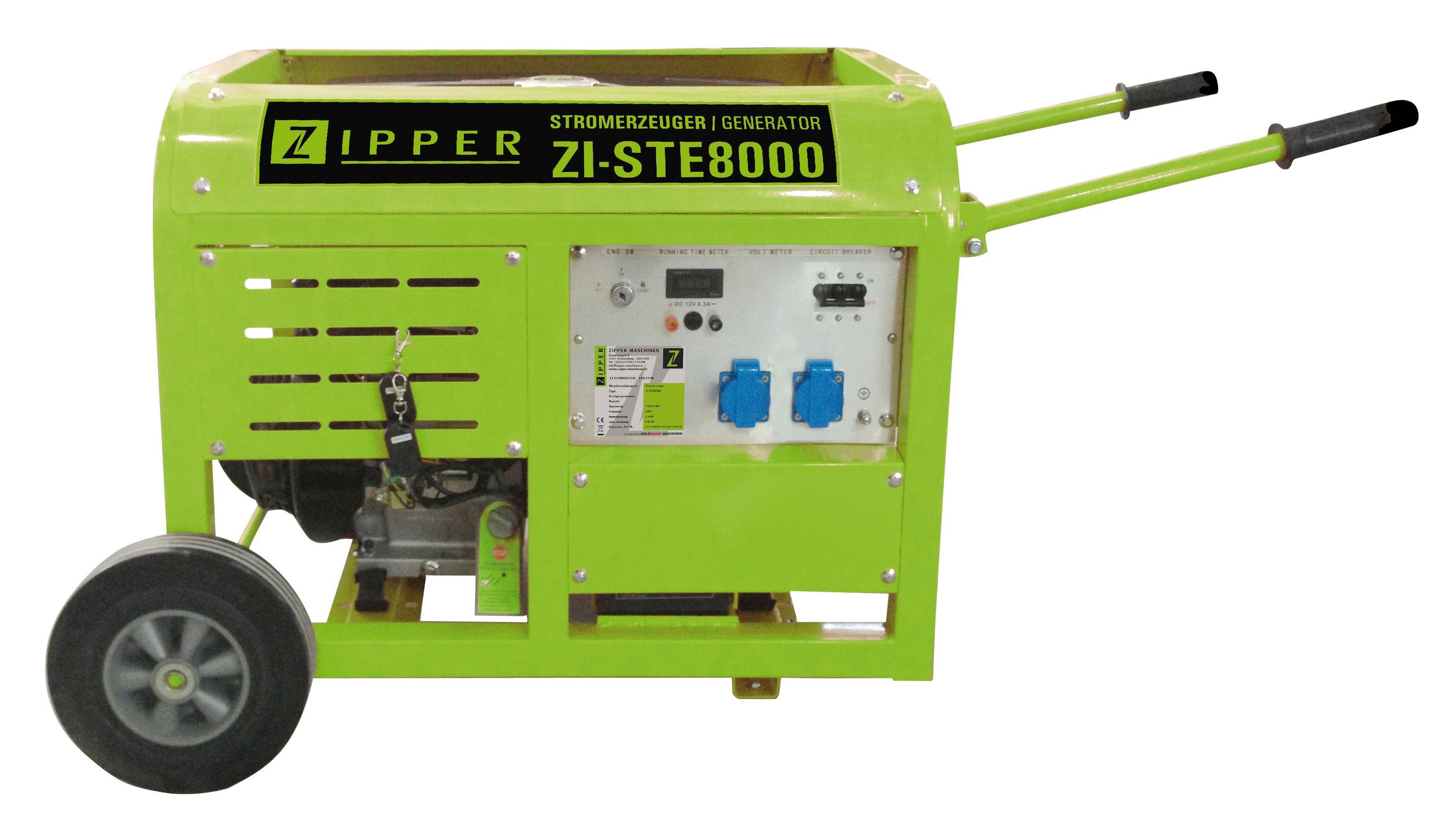 Zipper Stromerzeuger »ZI-STE8000«