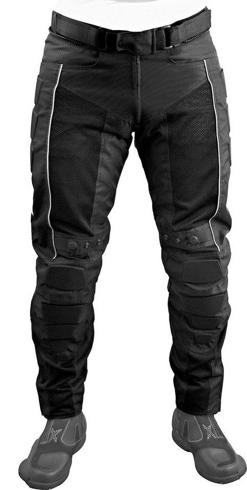 Roleff Motorradhose »Roleff Racewear Mesh« in schwarz