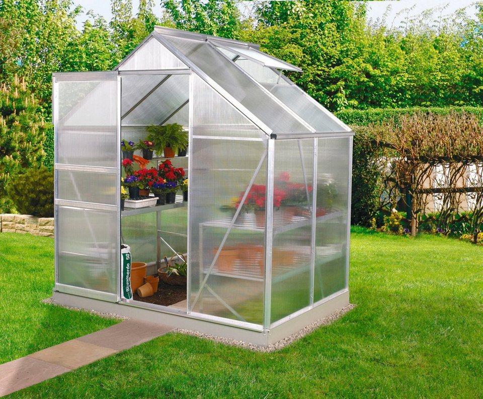 vitavia gew chshaus venus 2500 bxtxh 192x130x197 cm silber 6 mm online kaufen otto. Black Bedroom Furniture Sets. Home Design Ideas