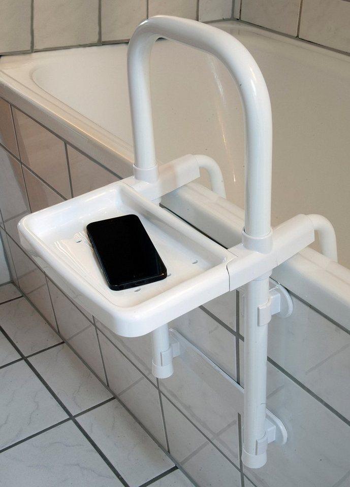 Duschenzubehör »Einstiegshilfe« in weiß