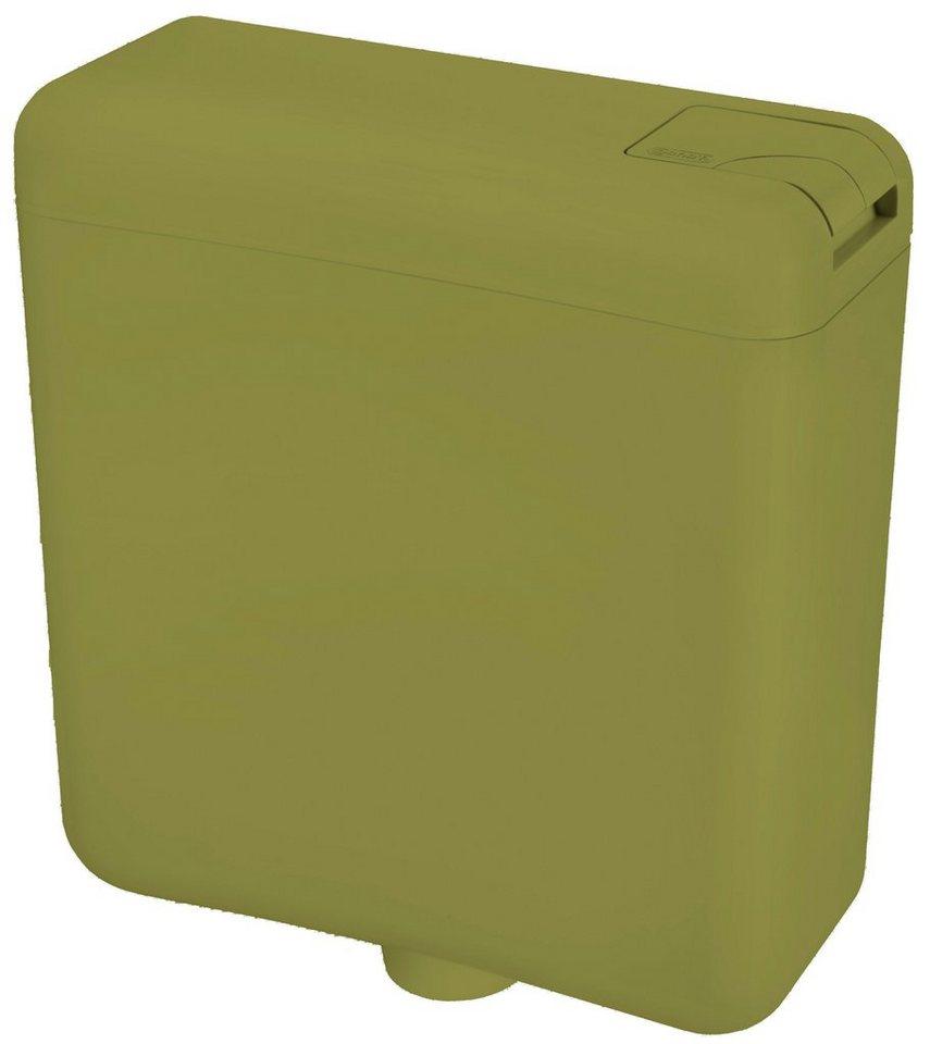 WC-Spülkasten, moosgrün