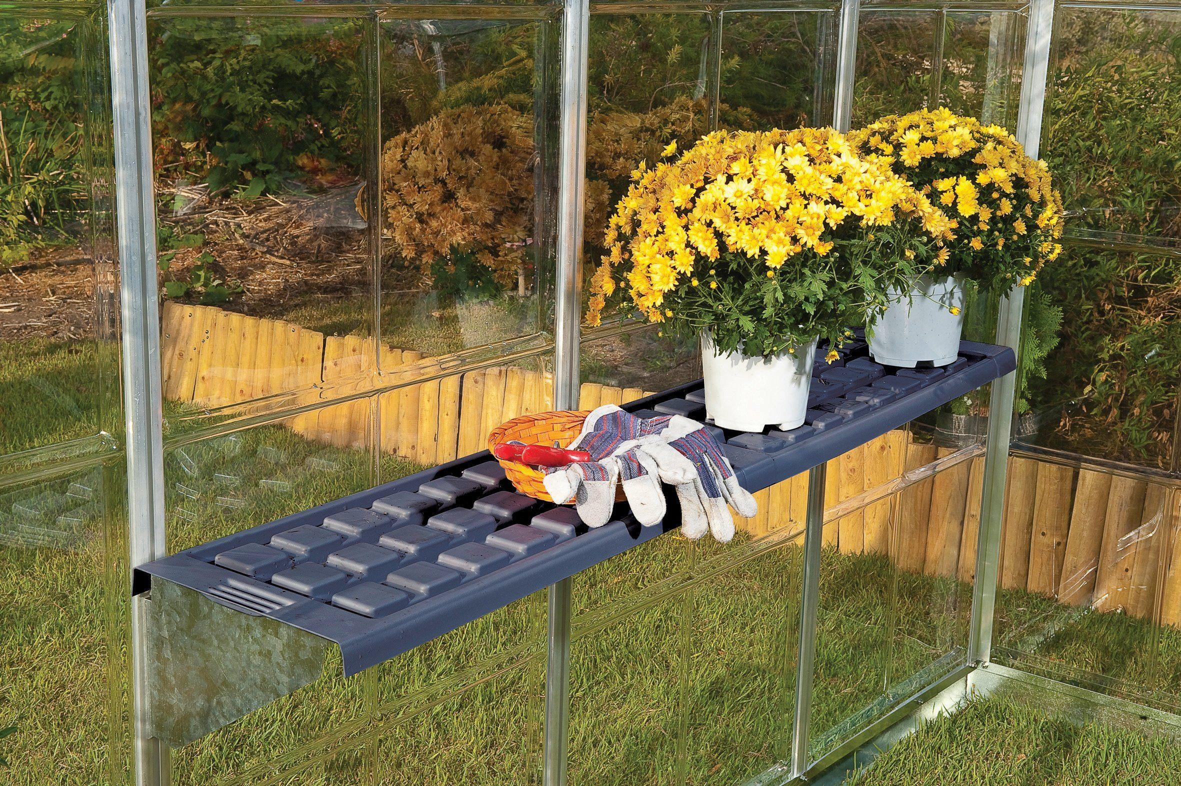 PALRAM Regalsystem »Twin Shelf Kit «, BxT: 126x30 cm, für Gewächshaus »Harmony«