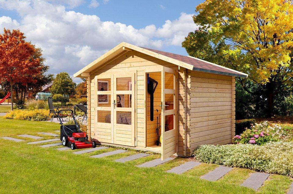 gartenhaus berne 5 bxt 310x230 cm kaufen otto. Black Bedroom Furniture Sets. Home Design Ideas