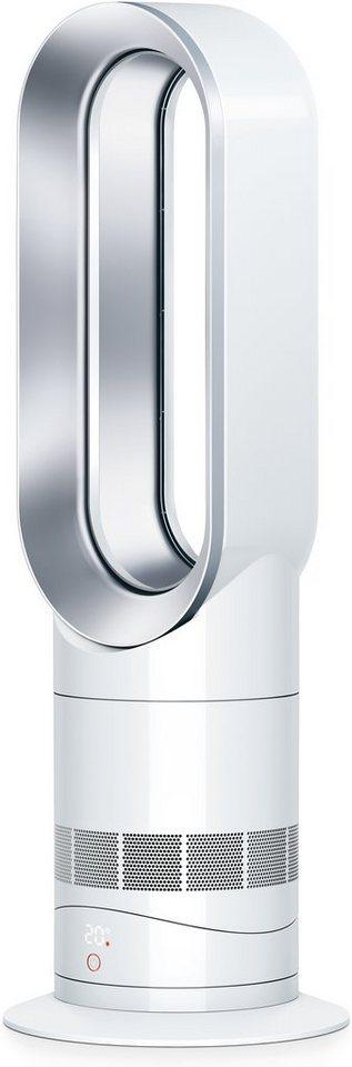 Dyson Ventilator mit Heizlüfterfunktion AM09, weiß/ silber in weiß