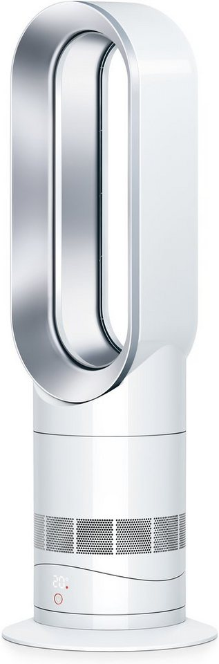 dyson ventilator mit heizl fterfunktion am09 wei silber. Black Bedroom Furniture Sets. Home Design Ideas