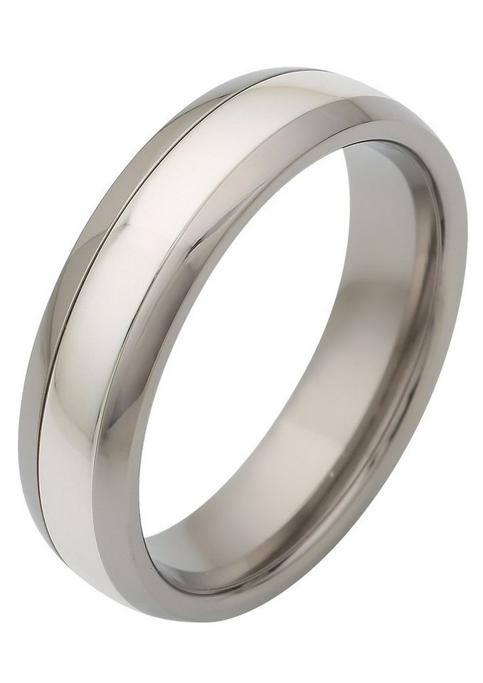 Firetti Trauring »matt, glanz, mit Diamantschnitt« | Schmuck > Ringe > Diamantringe | Firetti