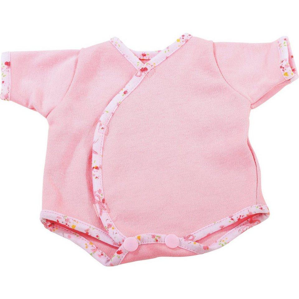 Götz Puppenkleidung Body, classic pink 30-33 cm