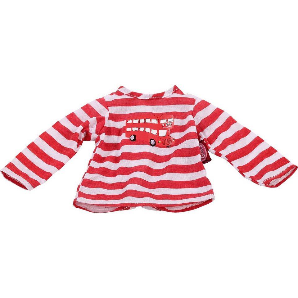 Götz Puppenkleidung T-Shirt, London bus 42-46 cm