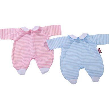 GÖTZ Puppenkleidung Anzug, pink stripes 30-33 cm