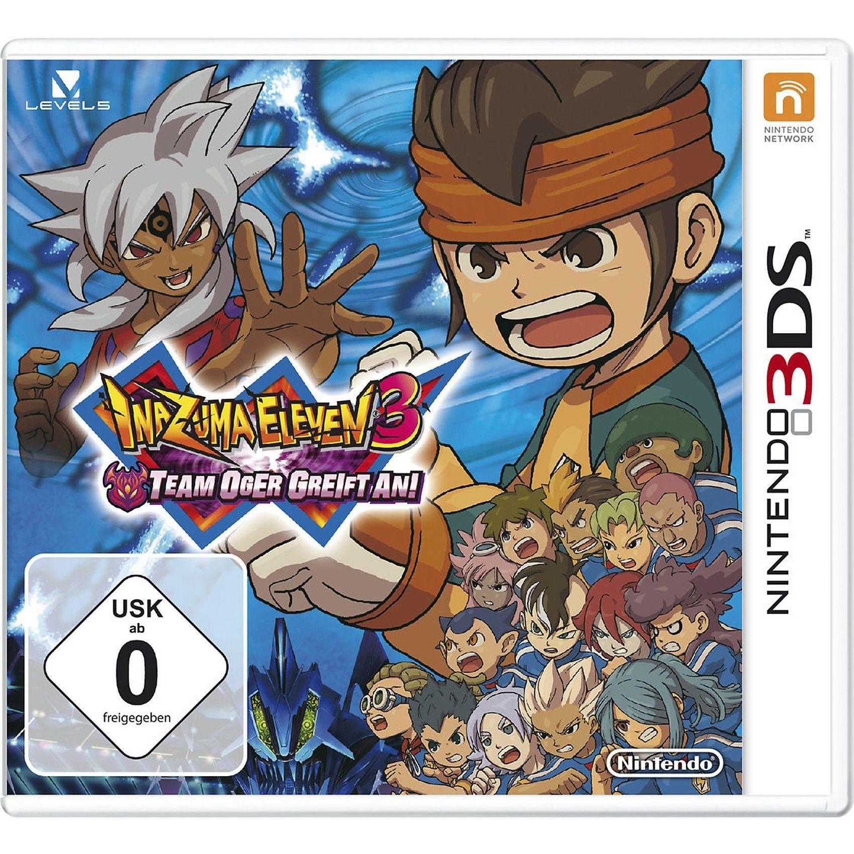 Nintendo 3DS Inazuma Eleven 3 - Team Ogra Attacks