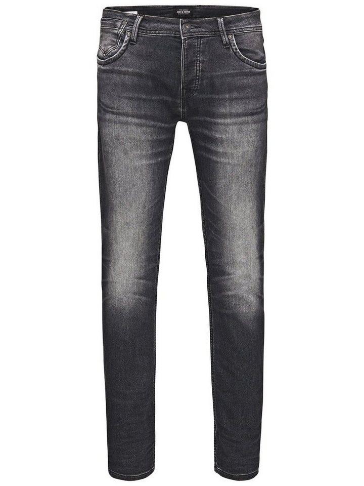 Jack & Jones Tim Leon SC 379 Slim Fit Jeans in Grey Denim