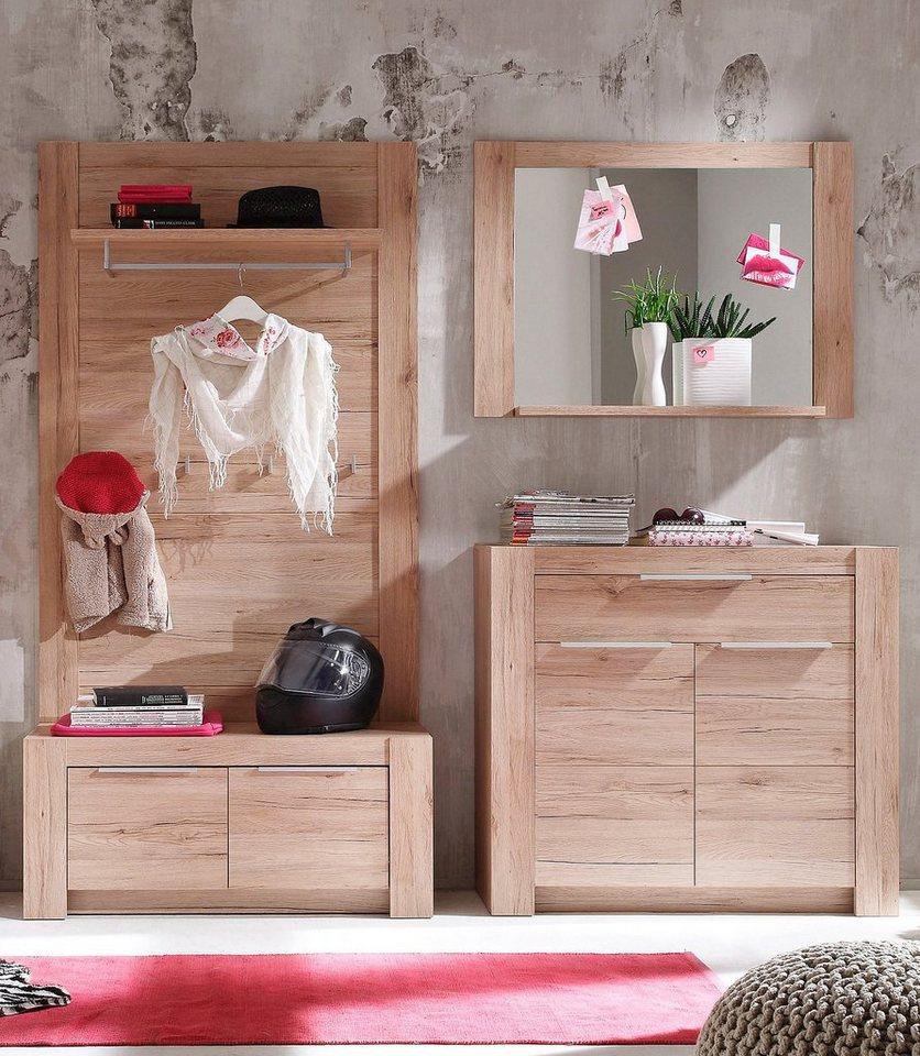 garderoben set cougar 4 tlg online kaufen otto. Black Bedroom Furniture Sets. Home Design Ideas