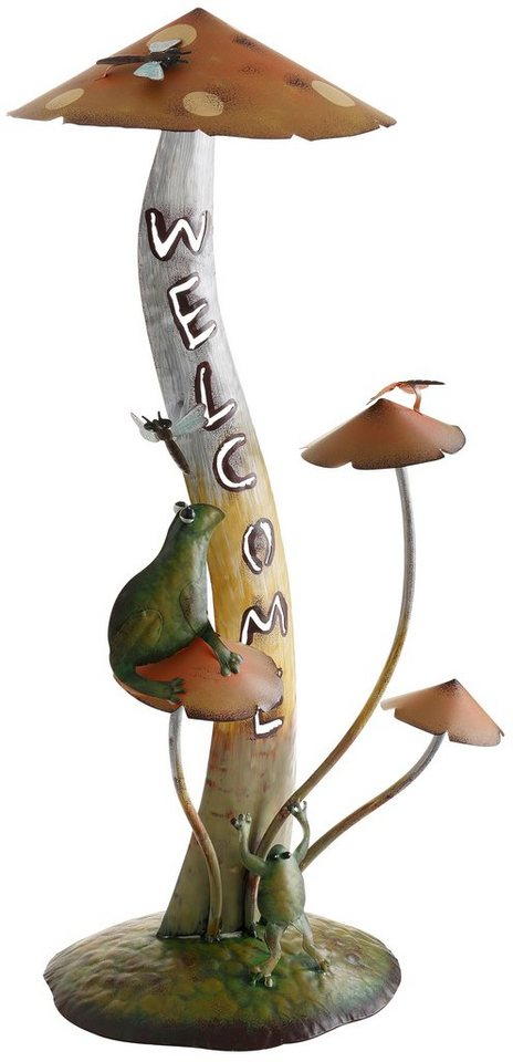 Pilz-Figur, Home affaire, »Welcome«