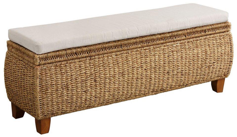 home affaire truhenbank mit aufklappbarem deckel otto. Black Bedroom Furniture Sets. Home Design Ideas