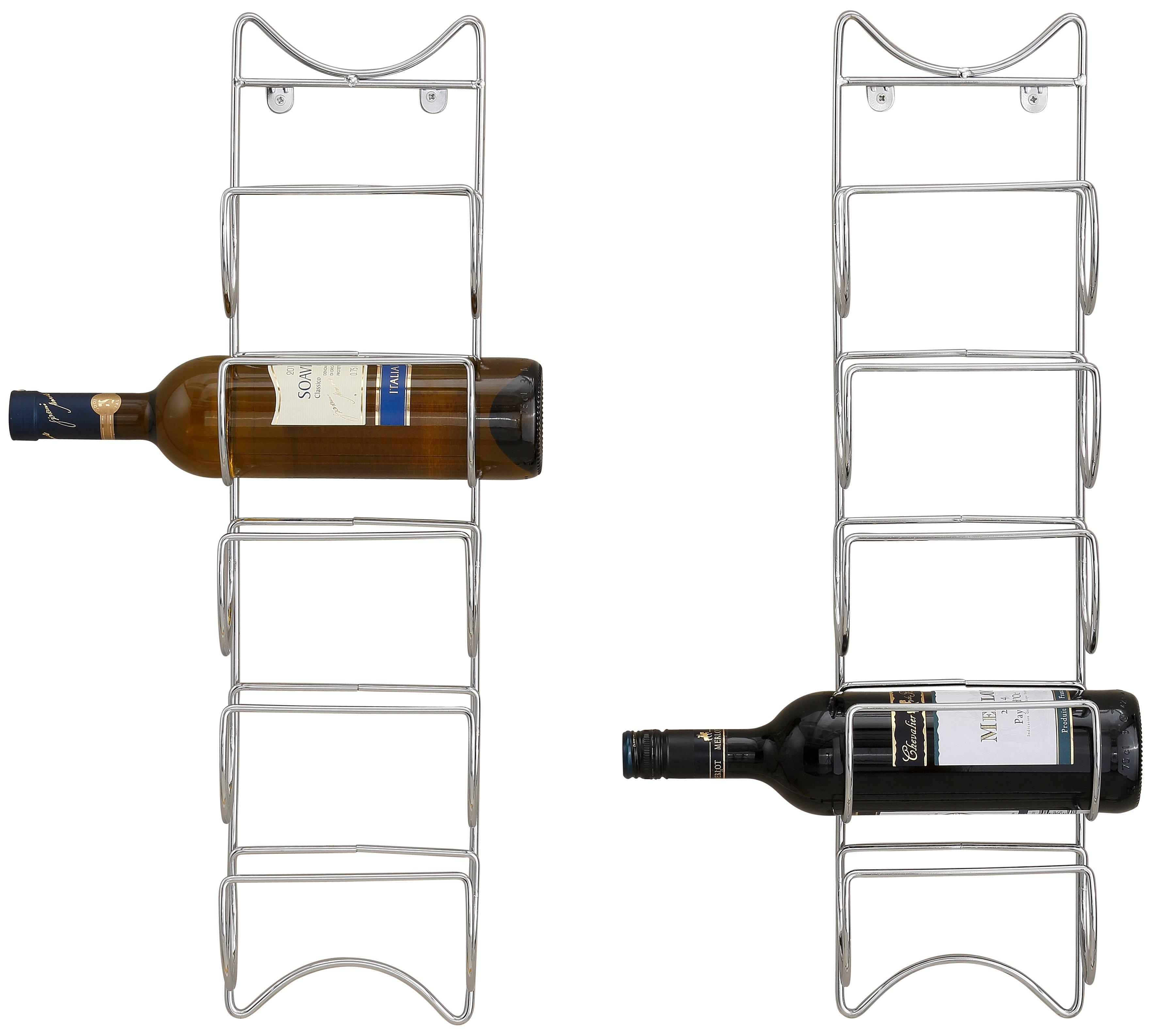 Home affaire Flaschenhalter (2er Set)   Küche und Esszimmer > Küchenregale > Weinregale   Home affaire