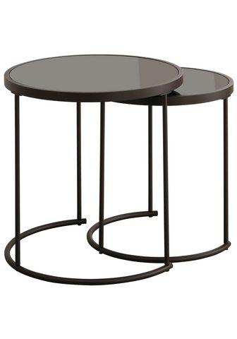 HOME AFFAIRE Pristatomas stalas (Rinkinys 2 vieneta...
