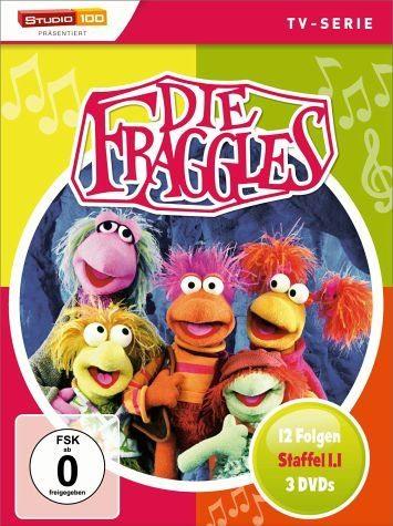DVD »Die Fraggles - Staffel 1.1 (3 Discs)«