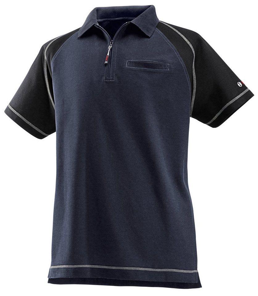 Poloshirt in blau
